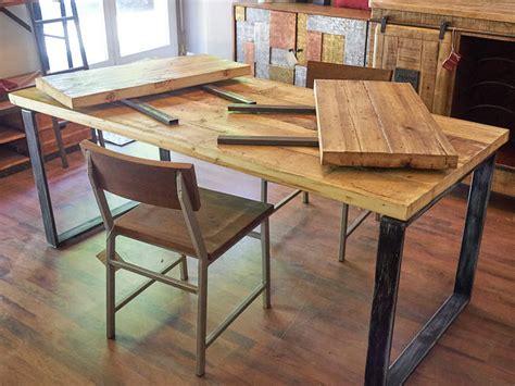 tavolo consolle allungabile legno tavolo industrial allungabile legno e ferro offerta