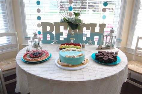 themed birthdays ideas beach theme party made2style