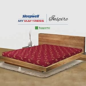 sleepwell inspire supportec rubberised coir mattress for