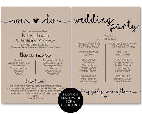 top result wedding ceremony itinerary template unique best photos of