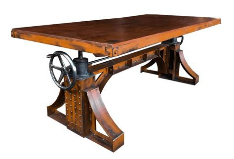 industrial style table ls dining table american industrial revolution chic house