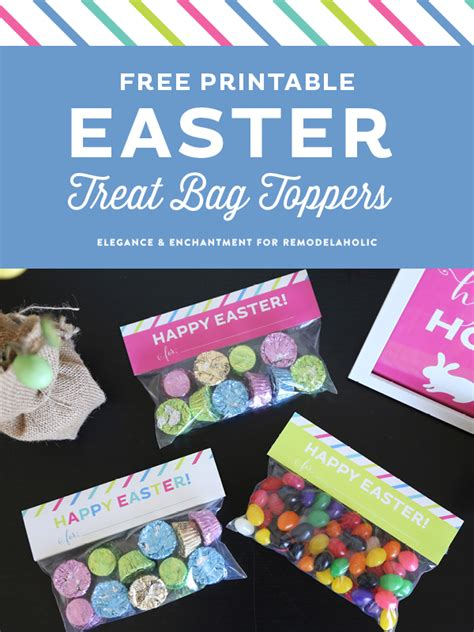 Wall Stickers For Living Room remodelaholic free printable easter treat bag toppers
