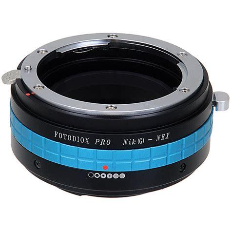 Adapter Nikong To Sony Nex T2909 fotodiox adapter for nikon g lens to sony nex nk g nex p ii b h