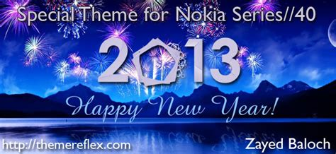 nokia 5233 themes happy new year download happy new year 2013 theme nokia 206 free free