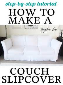 Reupholster Sofa Cushions How To Make A Cushion Cover And Other Slipcover Tutorials