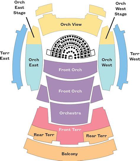 Disney Concert Calendar Disney Seating Chart