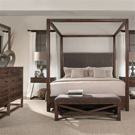 bernhardt bedroom sets bernhardt elements canopy bed jpg