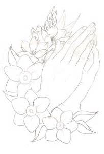 Praying Hands Tattoo By Metacharis On DeviantART sketch template