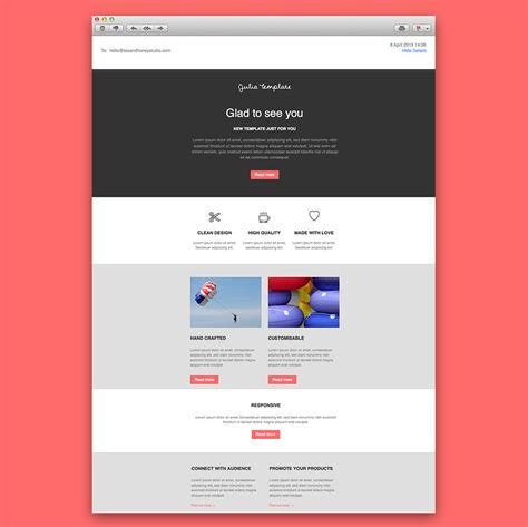 design html email template email newsletter template responsive html email newsletter