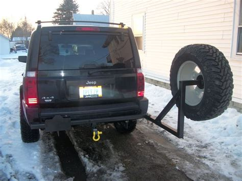 jeep commander spare tire carrier search jeep