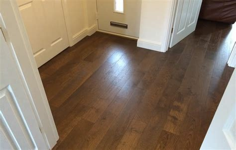 Toffee Stain Engineered Flooring Installation
