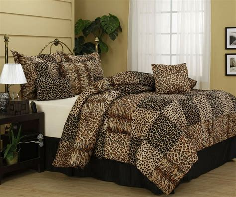 Leopard Print Comforters by Nanshing Cameroon Comforter Set Bed In A Bag 7