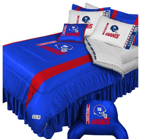 Ny Giants Crib Bedding Nfl New York Giants Football Team 5 Bedding Set Contemporary Bedding By