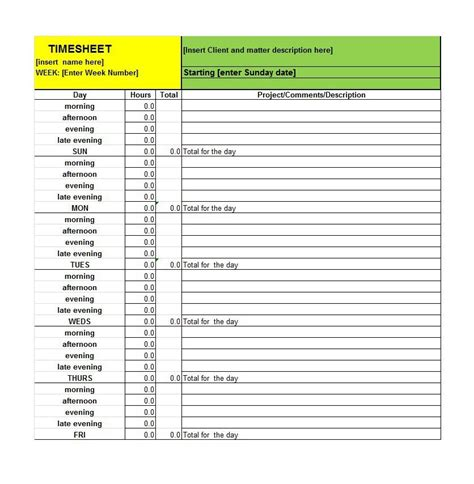 timely templates 40 free timesheet time card templates template lab