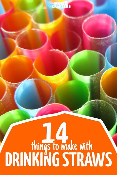 How To Make Paper Straws - 25 unique straw crafts ideas on