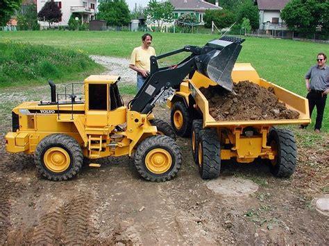 worlds largest  scale rc dump truck loader excavator cars rc cars trucks trucks