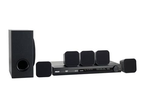 rca 100w dvd home theater system w hdmi