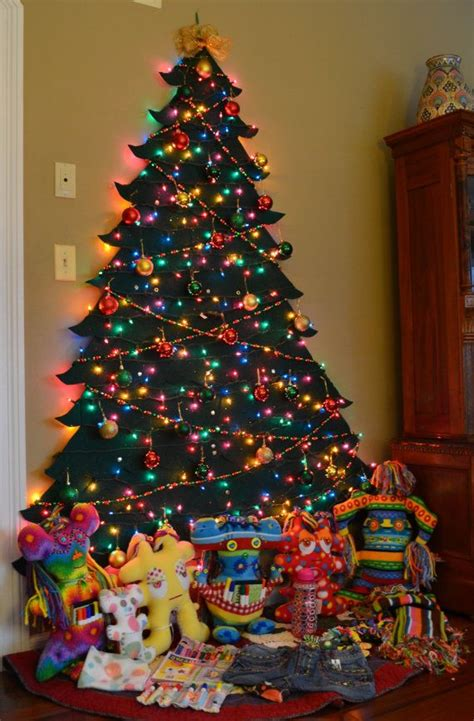 17 best images about christmas wall tree on pinterest