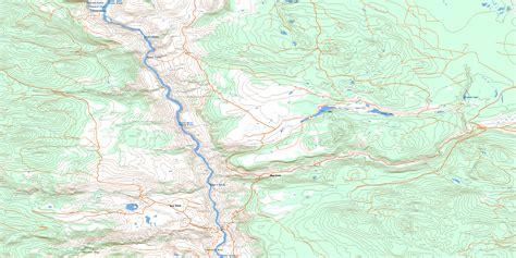 puppy creek creek bc free topo map 092o09 at 1 50 000