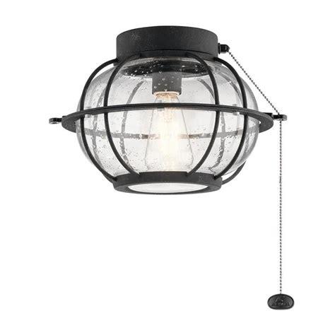 kichler ceiling fan light kit kichler bridge point ceiling fan light kit at lowes