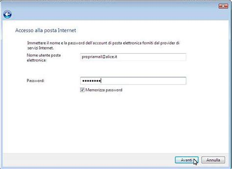 mail posta tim it porta configura la posta in outlook 2010 mail configurazione