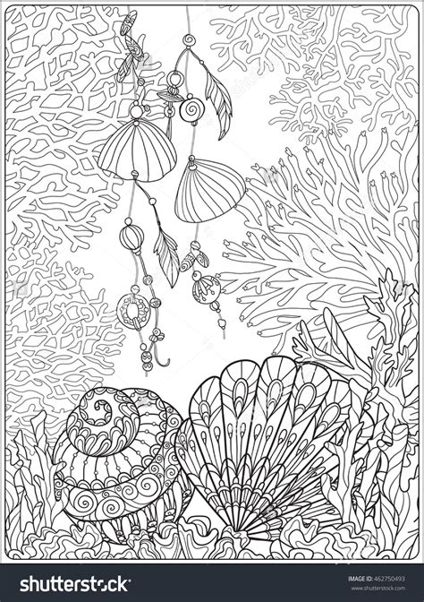 coloring pages for adults underwater underwater coloring pages for adults