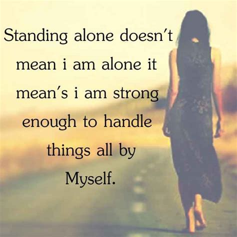all by myself alone books standing alone doesn t i am alone