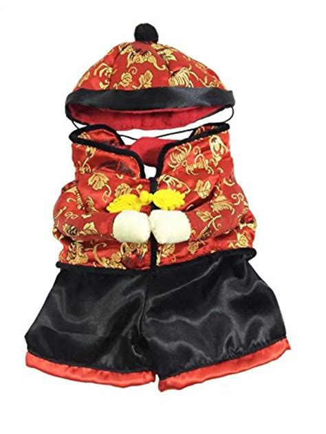 new year cat costume dogloveit new year style with hat costume clothes