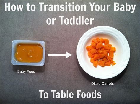 when can babies eat table food how to transition your baby or to table foods