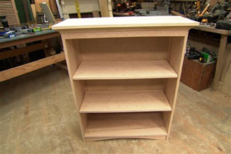 how to build a small bookcase plans free