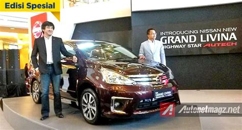 Bodykit Mobil Nissan Grand Livina Autech harga nissan grand livina autech dibanderol 242 juta rupiah