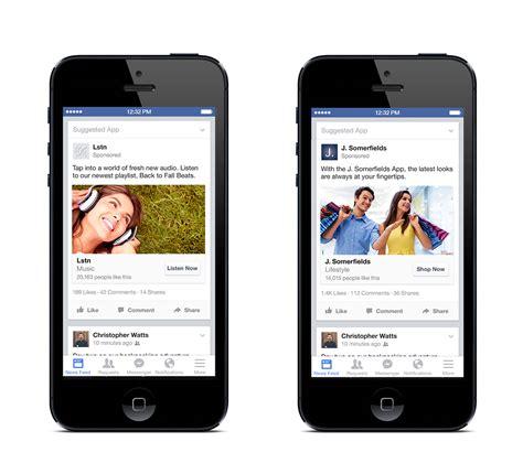 fb mobile mobile app engagement ads neue gebotsoptionen