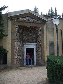 giardino di boboli entrata grotticina della madama