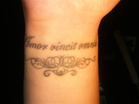 amor vincit omnia tattoo picture at checkoutmyink com