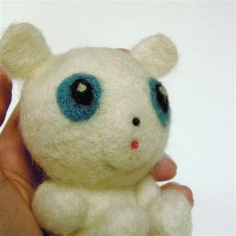 Handmade Felt Toys - caring for and repairing needle felted toys handmade