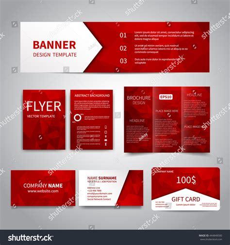 Gift Card Flyer - banner flyers brochure business cards gift stock vector 444848500 shutterstock