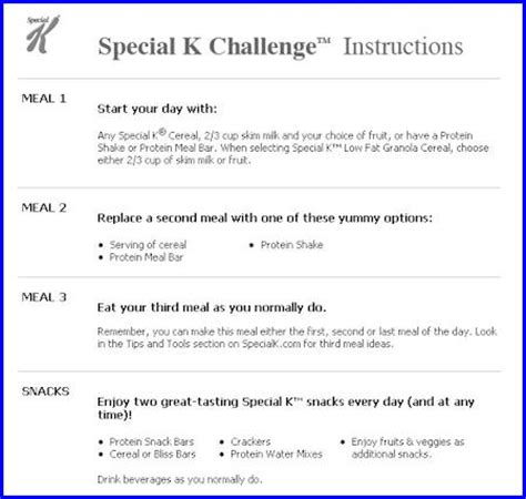 the special k diet can you lose weight with the special k