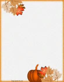 9 best images of free autumn printable stationery