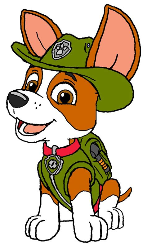 what of is tracker from paw patrol tracker paw patrol by kingleonlionheart on deviantart