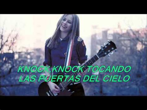 cover knock knocking on heavens door avriel lavigne music on 1 musica gratis avril lavigne knocking on heavens door subtitulada en