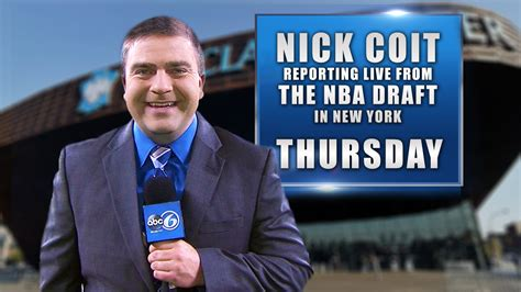 How Many Ppeople Worldwide Watched The Mba Draft by Nick Coit Report Live From Nba Draft Abc6