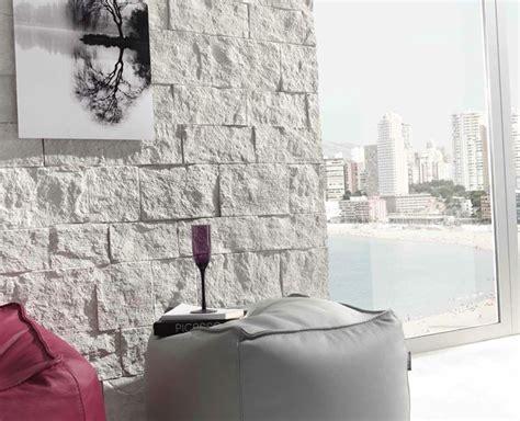 muri pietra interni pareti di pietra per interni di design arredamento