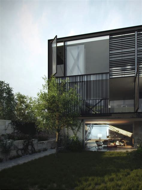 glass box house architectural concept of a glass box home