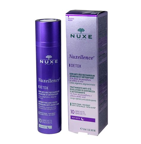 How To Use Nuxellence Detox by Cr 232 Me De Nuit Nuxellence Detox Nuxe Maquillage Cynthia