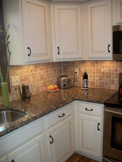 modern kitchen countertops and backsplash white kitchen cabinets baltic brown granite countertop