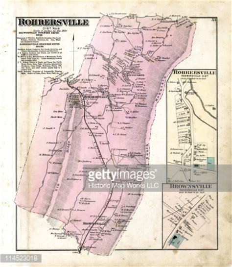 Washington County Md Search Maryland 1877 Rohrersville Brownsville Washington County Stock Illustration Getty Images