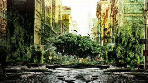 i am legend xfrog landscapes manhattan overgrown i am legend