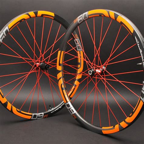 Handmade Bike Wheels - custom enve composites mtb rear wheel wheelbuilder