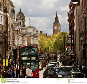 London september 18 busy street of london england the uk london