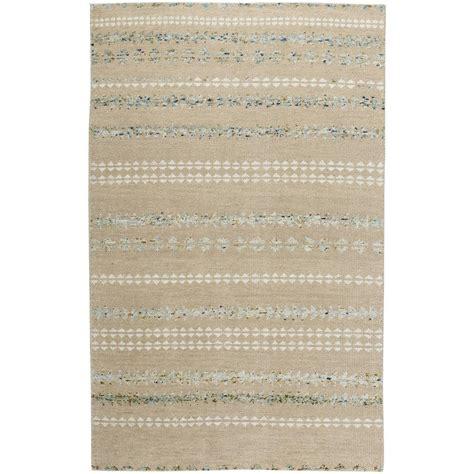 genevieve gorder rugs capel genevieve gorder scandinavian stripe beige smoke 8 ft x 10 ft area rug 1715rs08001000725